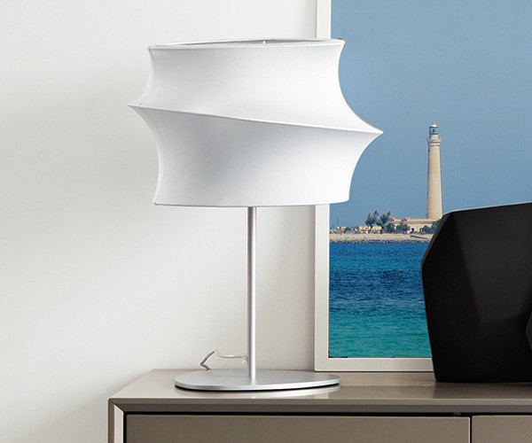 Illuminazione : lampada da tavolo cygnus calligaris