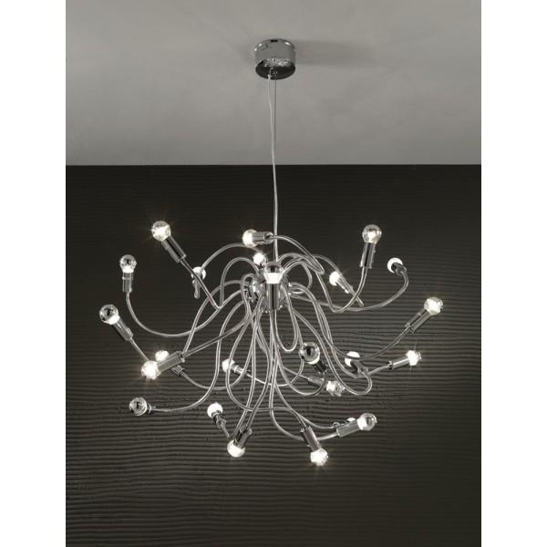 Illuminazione : Lampadario a sospensione Tomasucci Medusa